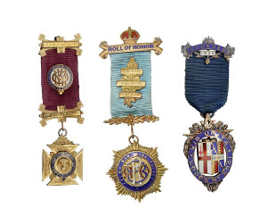 A photo of Masonic Regalia