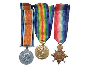 A photo of Medals and Militaria